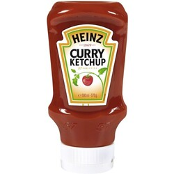 Heinz Curry Ketchup Squeeze 400 ml