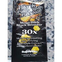 0ccccfcdeb8b Supre Tan Black Pineapple Passion Mega Dark Black Bronzer 30x ...