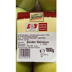 Heimat Golden Delicious