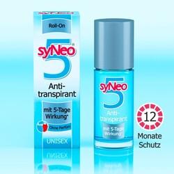 syneo 5 antitranspirant roll on ohne parfum 50 ml 4028615071006 codecheck info. Black Bedroom Furniture Sets. Home Design Ideas