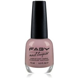 FABY Cream Nagellack  Faby's Red