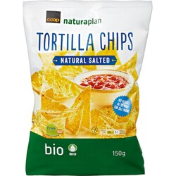 Coop Naturaplan Bio Tortilla Chips Natural Salted