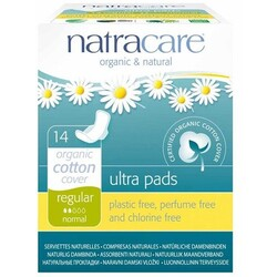 Bio Natracare Natural Ultra Pads With Wings Regular