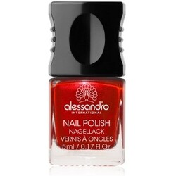 Alessandro Nail Polish Colour Explosion Nagellack  Nr. 130 - First Kiss Red