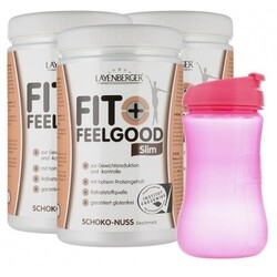 Layenberger Fit+Feelgood Slim mit Lady-Shaker, Schoko-Nuss