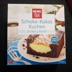 Rewe Beste Wahl Schoko Kokos Kuchen 4388844254091 Codecheck Info