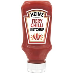 Heinz Fiery Chilli Ketchup Squeeze 400 ml