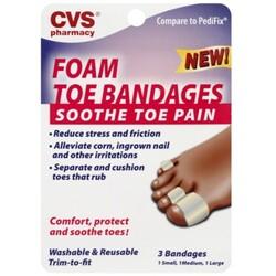 Cvs Toe Bandages 50428085134 Codecheckinfo