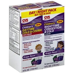 CVS Daytime Cold & Cough/Nighttime Congestion & Cold - 50428456095