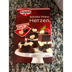 Dr Oetker Schoko Dekor Herzen 47 G 4000521006600 Codecheck Info