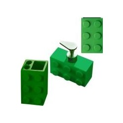 Ridder Bad Accessoires-Set Bob grün 3-tlg. bestehend aus ...