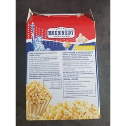 Popcorn Inhaltsstoffe