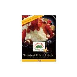 Dornseifer Milchreis mit Erdbeere-Rhabarber