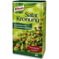 Knorr Salat Krönung - Croutinos mit Sonnenblumenkernen