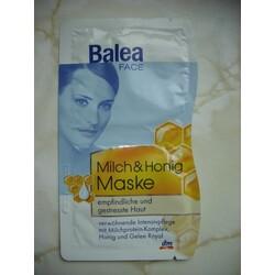 Balea Face Milch & Honig Maske (veraltet)