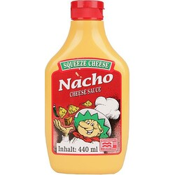 Squeeze Cheese Nacho Cheesesauce