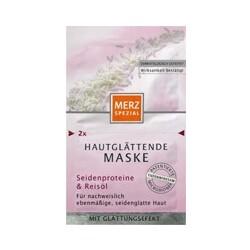 Merz Hautglättende Maske Seide & Reisöl