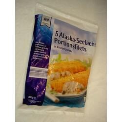 5 Alaska-Seelachs Portionsfilets in Knusperpanade