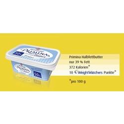Primina Halbfettbutter Streichweich mit Joghurt