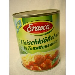 Fleischklößchen in Tomatensauce