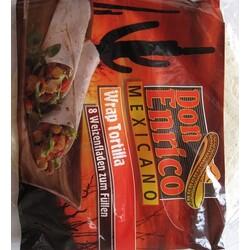 Don Enrico Mexicano Wrap Tortilla