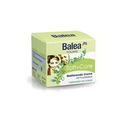 Balea Young Soft + Care mattierende Creme für jeden Hauttyp