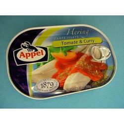Appel zarte Heringsfilets Tomate & Curry 200 g