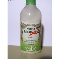 Neobio - Henna Balsam plus Intensivpflege