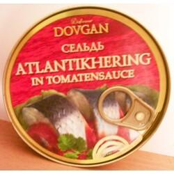 Atlantikhering in Tomatensauce