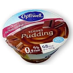 Optiwell Pudding Schoko