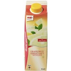 Real Quality Grapefruit Direktsaft 1Liter