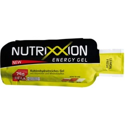NUTRIXXION Gel Lemon Fresh mit Koffein, 40g, 24er Pack