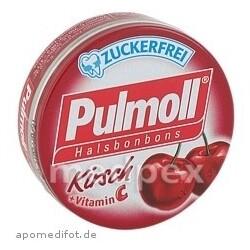 PULMOLL Halsbonbons Kirsch zuckerfrei 20 Gramm