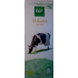 Bio Vollmilch, länger haltbar, 3,8 % Fett