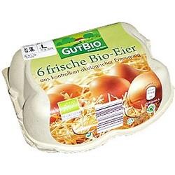 GutBio – 6 frische Bio-Eier