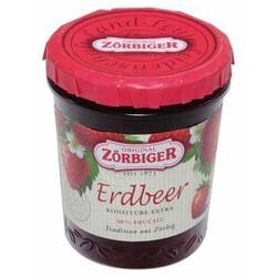 Zörbiger Erdbeer Konfitüre Extra