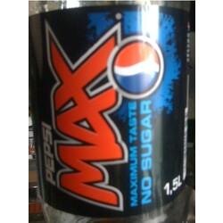 Pepsi MAX no Sugar