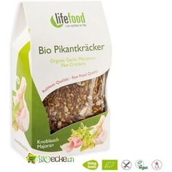 Lifefood - Bio Pikantkräcker Knoblauch-Majoran