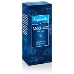 Aquasale - Meersalz mit Jod (fein)