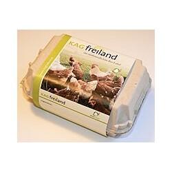 KAG Freiland - frische Eier aus Freilandhaltung, 4 Stück