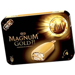 Magnum Gold ?! Vanilla & Caramel