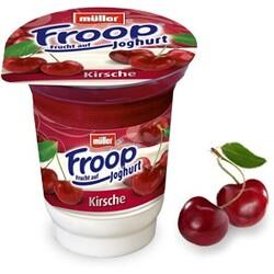 Müller Froop - Frucht auf Joghurt Kirsche