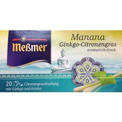 Meßmer - Asiatischer Manana - Ginkgo-Zitronengras - Tee
