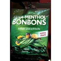 Edeka - Euka-Menthol-Bonbons extra stark