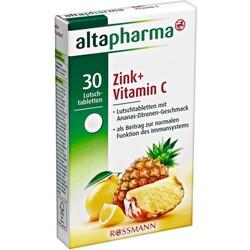 Altapharma - Zink + Vitamin C