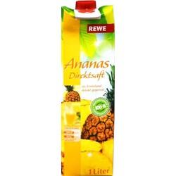 Ananas Direktsaft von REWE