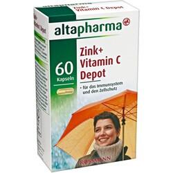 Altapharma - Zink + Vitamin C Depot