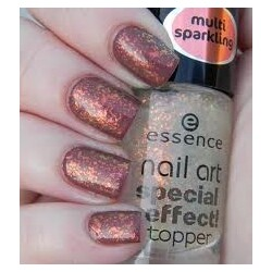 essence nail art special effect! Topper 08 night in vegas