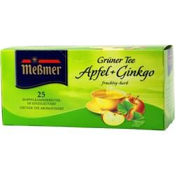 Meßmer Grüner Tee Apfel + Ginkgo