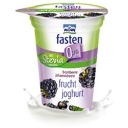 NÖM - Fasten Fruchtjoghurt Brombeere Johannisbeere mit Stevia
